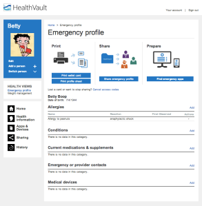 Emergency_Profile_-_HealthVault 1