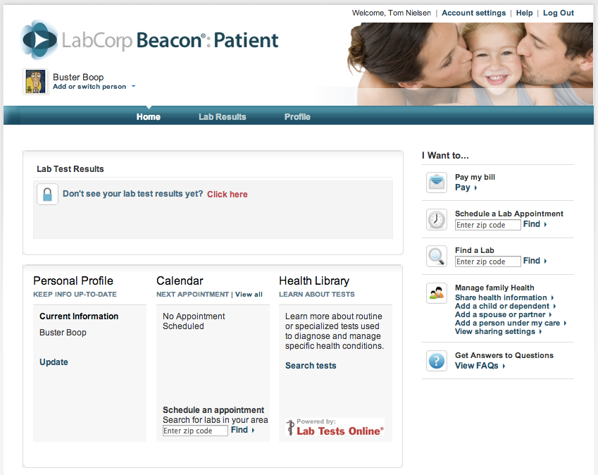 Installing LabCorp Beacon Patient | PHR4us: Personal ...