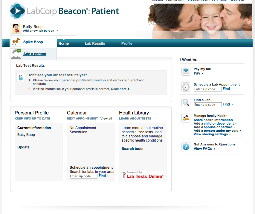 Installing Labcorp Beacon Patient Phr4us Personal Health Records