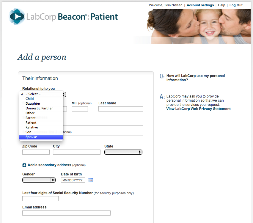 Installing LabCorp Beacon Patient | PHR4us: Personal Health Records ...